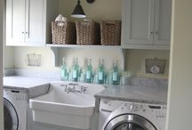 Laundry Room ideas / Might as well make it pretty! / by Cottage at the Crossroads