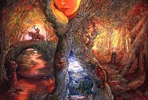 Josephine Wall / storytelling paintings
