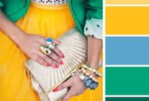 Green color palette / Color palette for future paintings