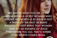 Godly woman