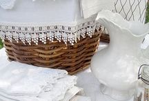 linen and lace / by Magpies Laundry