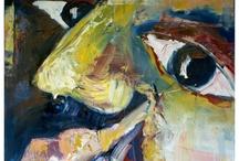 Art / paintings / by Audur Ingvarsdottir