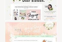 web/graphic design / html, branding, web design, graphic design