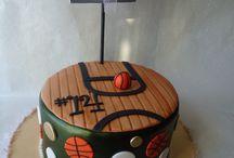 Basketball cakes