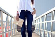 Skinny Jeans & Heels