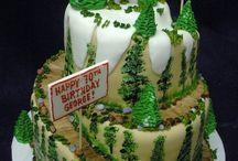 spiraled cakes
