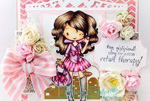 THE GREETING FARM - cute girly handmade cards