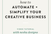 Streamline your business / This board is for online business owners who want to run a smooth online business with the help of automations - Tools -Tips - Website - Free Resources