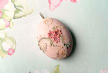 embroidery polymer clay ideas