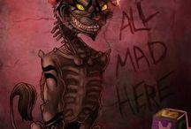 The Cheshire cat / Alice in wonderland