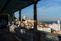 Lisboa e os miradouros