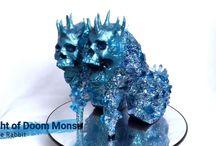 Knight of Doom Mons Skull Heels