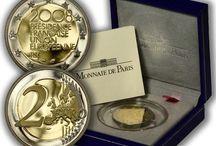 Monedas 2 euros Francia