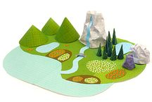 PAPER TOYS / by ANNA ADENEY