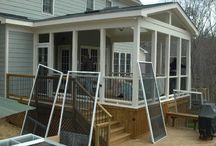 Porches d'entrée