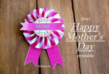 MOTHER'S DAY / Gift ideas and DIY projects for Mother's Day