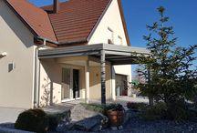 Pergola toiture fixe en Alsace