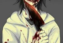 Creepypasta / Jeff the killer, Slender etc.