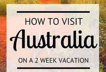 Travel Plans 2016 - Australia