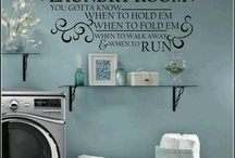 Laundry Room Ideas / by Jillian Shepard