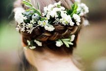 Blomster i hår