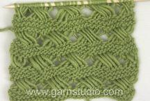 knitting/strikke