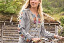 Folk style shirts