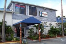 Cocoa Beach / Great places to chow down  on the waterfront in Cocoa beach