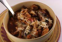 Crock pot soups and stews / by Elizabeth Bender