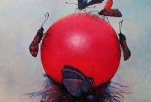 painting / imaginative paintings. Surreal art, fantasy art, original, strange, conceptual, magic, natural, realism...