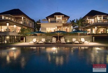 Villa Sanur Residence, Sanur / Villa Sanur Residence  is located in a spectacular beachfront location on Bali's south east coast. Comprising three similarly designed three-bedroom houses, providing a total of nine bedrooms, Villa Sanur Residence is ideal for a large family gathering, group holiday or wedding celebration. Each building have the same facilities including the garden, the 23 x 1.5 meter swimming pool and a communal dining room serviced by a commercial kitchen.