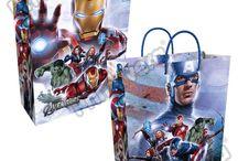 Bolsas Regalo Premium Personajes Marvel / Línea Envoltura Primavera