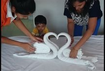Art & Craft / Simple art and craft at home - Towel Art