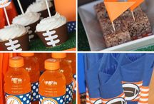 UT football party / by Elizabeth Koscak