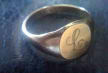 Monograms and Initials / A collection of inspirational pieces with monograms and initials on them. Monogram bracelets, necklaces, earrings and keychains. No belts. Well, maybe belts.