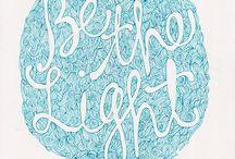 Words & Light