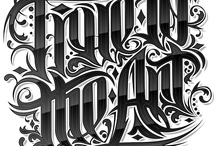 DESIGN Letterings / by Ritchie Cantuaria