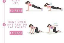 Упражнения и спорт