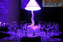LED Table Centres / Our Range Of LED Table Centres