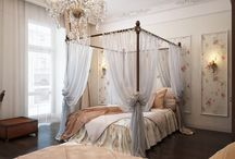 The Grandeur of Four-Poster Bed / never mind if Hubby does not buy the idea. I want one!!!