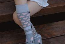 Vaikiškos kojinės / Stilingos vaikiškos kojinės