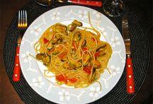 Rapidinhas na Cozinha (Quickies in the Kitchen) / Spaghetti alle Cozze (Macarrão com Mexilhões)