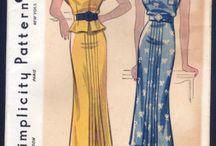 Vintage Sewing 1930s Patterns / by Linda Christie