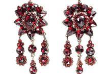 Bohemian Garnet Jewelry