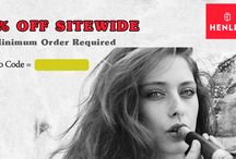 Henley Coupon Codes / Henley gives you an amazing 10% discount on all electronic cigarettes by using coupon code.