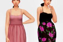 TS4 Sukienki/Kombinezony