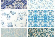 Frankrijk kamer blauw