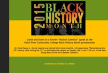 Black History Boards / Black History celebrations at various locations / by Pearl River Community College
