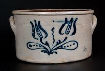 fajansz edények / stoneware