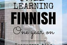 My finnish  language  journey